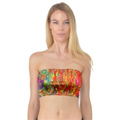 Background Texture Colorful Bandeau Top