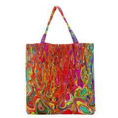 Background Texture Colorful Grocery Tote Bag