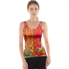 Background Texture Colorful Tank Top