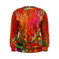 Background Texture Colorful Women s Sweatshirt