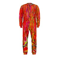 Background Texture Colorful OnePiece Jumpsuit (Kids)