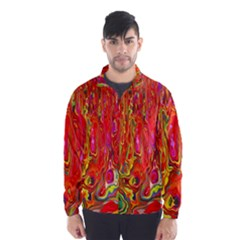 Background Texture Colorful Wind Breaker (men)