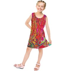 Background Texture Colorful Kids  Tunic Dress