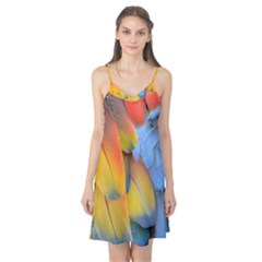 Spring Parrot Parrot Feathers Ara Camis Nightgown