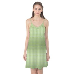 Gingham Check Plaid Fabric Pattern Camis Nightgown