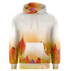 Autumn Leaves Colorful Fall Foliage Men s Pullover Hoodie