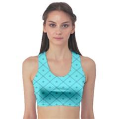 Pattern Background Texture Sports Bra