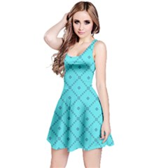 Pattern Background Texture Reversible Sleeveless Dress