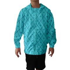 Pattern Background Texture Hooded Wind Breaker (kids)