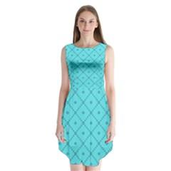 Pattern Background Texture Sleeveless Chiffon Dress