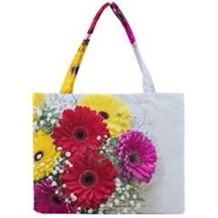 Flowers Gerbera Floral Spring Mini Tote Bag