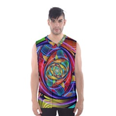 Eye of the Rainbow Men s Basketball Tank Top