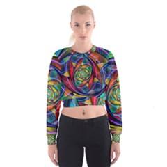Eye of the Rainbow Cropped Sweatshirt