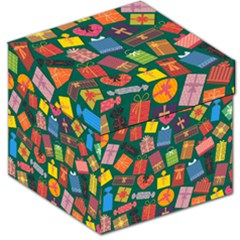 Presents Gifts Background Colorful Storage Stool 12