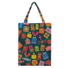 Presents Gifts Background Colorful Classic Tote Bag