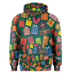 Presents Gifts Background Colorful Men s Pullover Hoodie