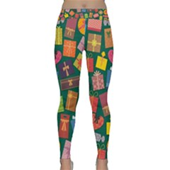 Presents Gifts Background Colorful Classic Yoga Leggings