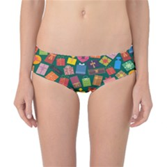 Presents Gifts Background Colorful Classic Bikini Bottoms