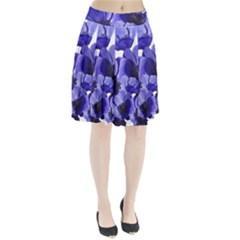 Poppy Blossom Bloom Summer Pleated Skirt