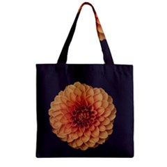 Art Beautiful Bloom Blossom Bright Zipper Grocery Tote Bag