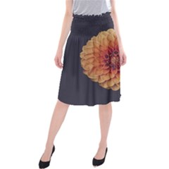 Art Beautiful Bloom Blossom Bright Midi Beach Skirt