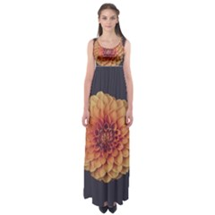 Art Beautiful Bloom Blossom Bright Empire Waist Maxi Dress