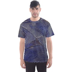 Textures Sea Blue Water Ocean Men s Sports Mesh Tee