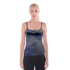Textures Sea Blue Water Ocean Spaghetti Strap Top