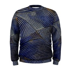 Textures Sea Blue Water Ocean Men s Sweatshirt