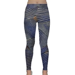 Textures Sea Blue Water Ocean Classic Yoga Leggings