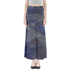 Textures Sea Blue Water Ocean Maxi Skirts