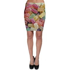 Jelly Beans Candy Sour Sweet Bodycon Skirt