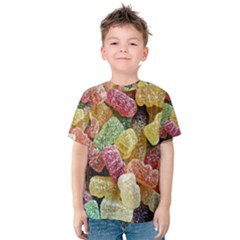 Jelly Beans Candy Sour Sweet Kids  Cotton Tee