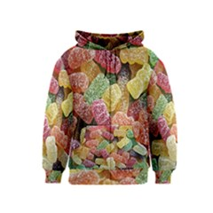 Jelly Beans Candy Sour Sweet Kids  Zipper Hoodie