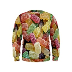 Jelly Beans Candy Sour Sweet Kids  Sweatshirt