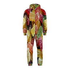 Jelly Beans Candy Sour Sweet Hooded Jumpsuit (Kids)