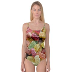Jelly Beans Candy Sour Sweet Camisole Leotard