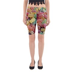 Jelly Beans Candy Sour Sweet Yoga Cropped Leggings