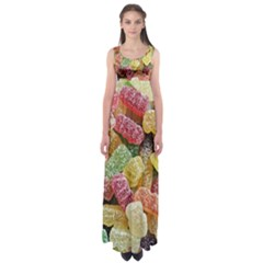 Jelly Beans Candy Sour Sweet Empire Waist Maxi Dress