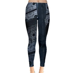Graphic Design Background Leggings