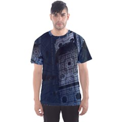 Graphic Design Background Men s Sports Mesh Tee