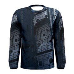 Graphic Design Background Men s Long Sleeve Tee