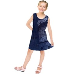 Graphic Design Background Kids  Tunic Dress