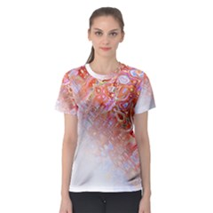Effect Isolated Graphic Women s Sport Mesh Tee