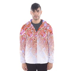 Effect Isolated Graphic Hooded Wind Breaker (men)