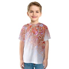 Effect Isolated Graphic Kids  Sport Mesh Tee