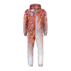 Effect Isolated Graphic Hooded Jumpsuit (Kids)