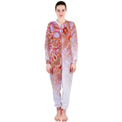 Effect Isolated Graphic Onepiece Jumpsuit (ladies)