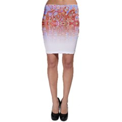 Effect Isolated Graphic Bodycon Skirt
