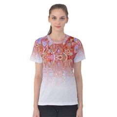 Effect Isolated Graphic Women s Cotton Tee